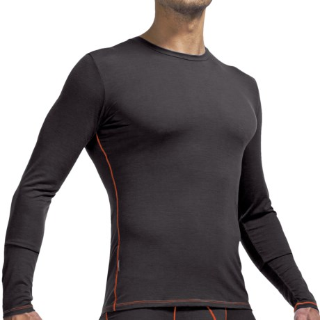 Icebreaker Anatomica Base Layer Top - Merino Wool, Long Sleeve (For Men)