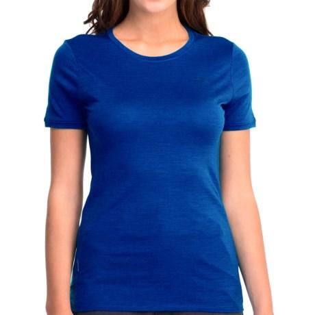 Icebreaker Superfine 150 Tech T Lite T-Shirt - Merino Wool, UPF 30+, Short Sleeve (For Women)