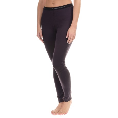 Icebreaker Oasis Base Layer Bottoms - Merino Wool, UPF 30+, Lightweight (For Women)