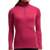 Icebreaker Everyday Zip Neck Base Layer Top - Merino Wool, Lightweight, Long Sleeve (For Women)