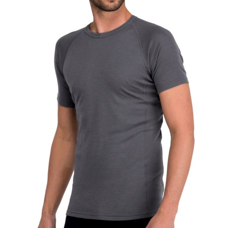 Icebreaker Everyday Bodyfit 200 Crew Neck Shirt - UPF 20+, Merino Wool, Short Sleeve (For Men)