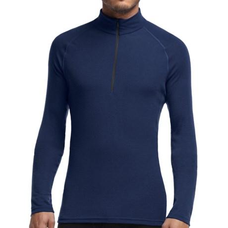 Icebreaker Everyday Zip Neck Shirt - UPF 20+, Merino Wool, Lightweight, Long Sleeve (For Men)