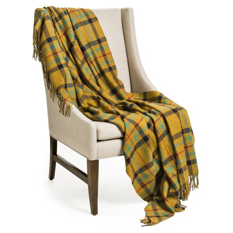 Johnstons of Elgin Pure Cashmere Throw Blanket - 55x75""