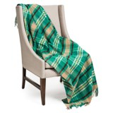 """Johnstons of Elgin Limited Edition Lambswool Throw Blanket - 55x67"""""""