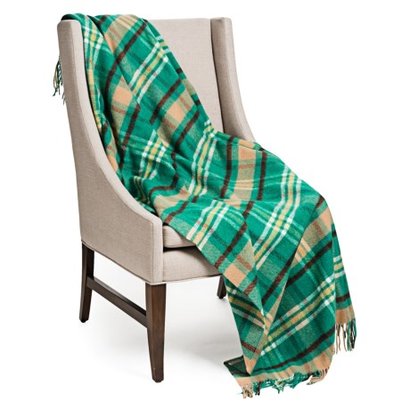 Johnstons of Elgin Limited Edition Lambswool Throw Blanket - 55x67""