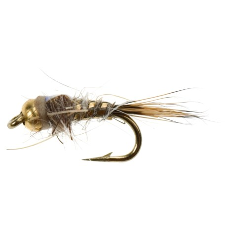 Black's Flies BH Flashback Hare's Ear Nymph Flies - Dozen