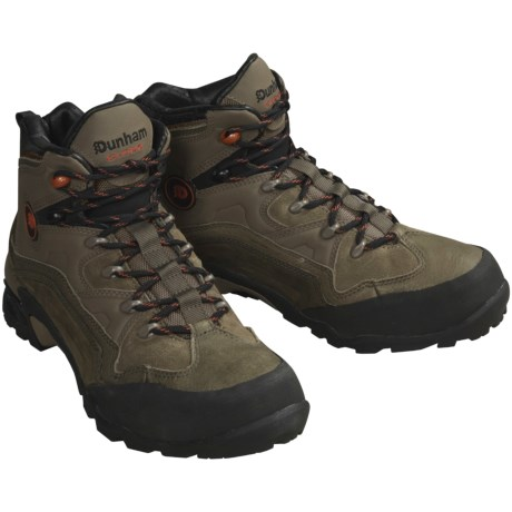 Dunham Mid Hiking Boots - Cloud 9, Waterproof (For Men)