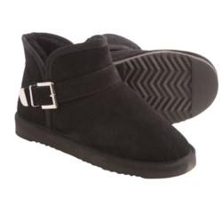 LAMO Footwear Betsy Ankle Boots - Suede, Sheepskin Wool Lining (For Women)