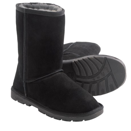 "LAMO Footwear Lady's 9"" Boots - Sheepskin Lined (For Women)"