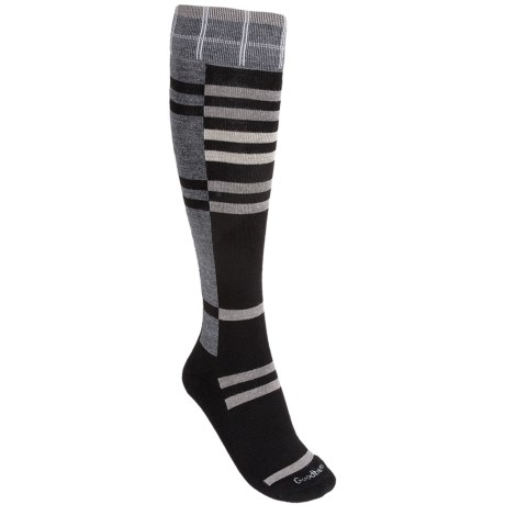 Goodhew Mega Plaid Socks - Merino Wool, Over-the-Calf (For Women)
