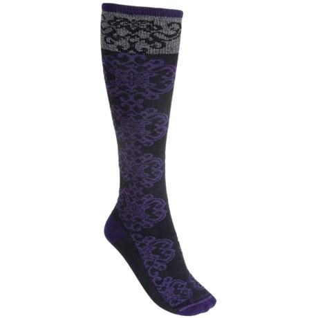 Goodhew Tapestry Socks - Over the Calf (For Women)