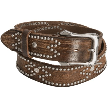 Aventura Clothing Distressed Rivet Belt - Leather (For Women)