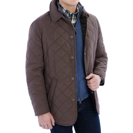 Valstar Husky Barn Coat - Quilted Microfiber (For Men)