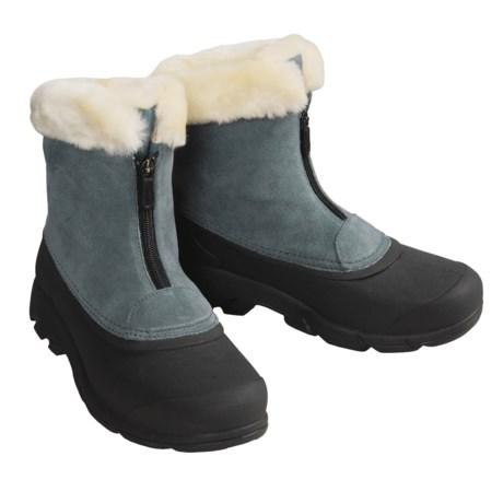 Sorel Snow Angel Pac Boots - Front Zip (For Women)