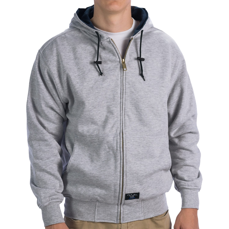 Walls Workwear Zip-Up Hoodie Sweatshirt - Thermal Lining (For Men