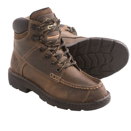 """Georgia Boot Eagle Light Work Boots - 6"""" (For Women)"""