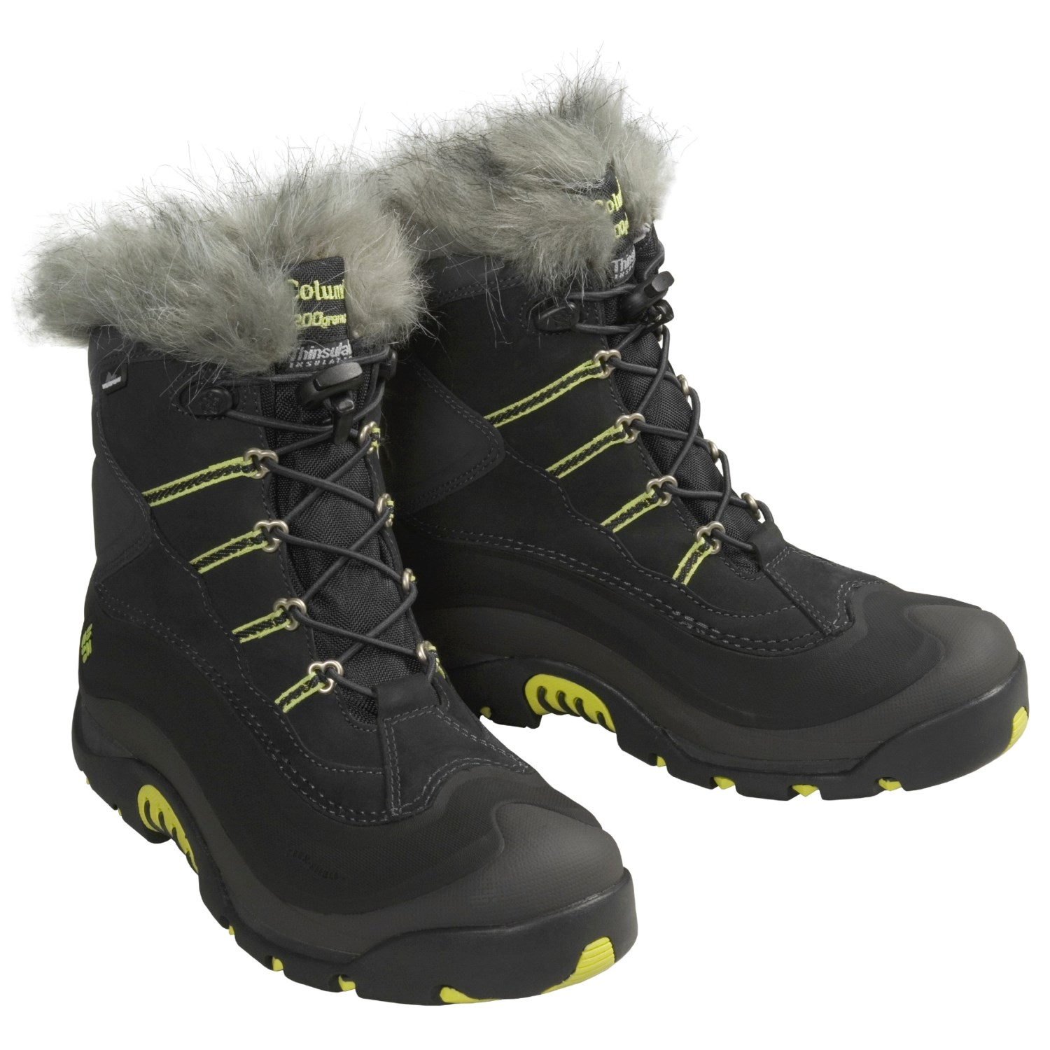 Creative COLUMBIA WOMENS 7.5 9 BUGABOOT PLUS II OMNI HEAT SNOW/WINETR BOOTS WATERPROOF | EBay
