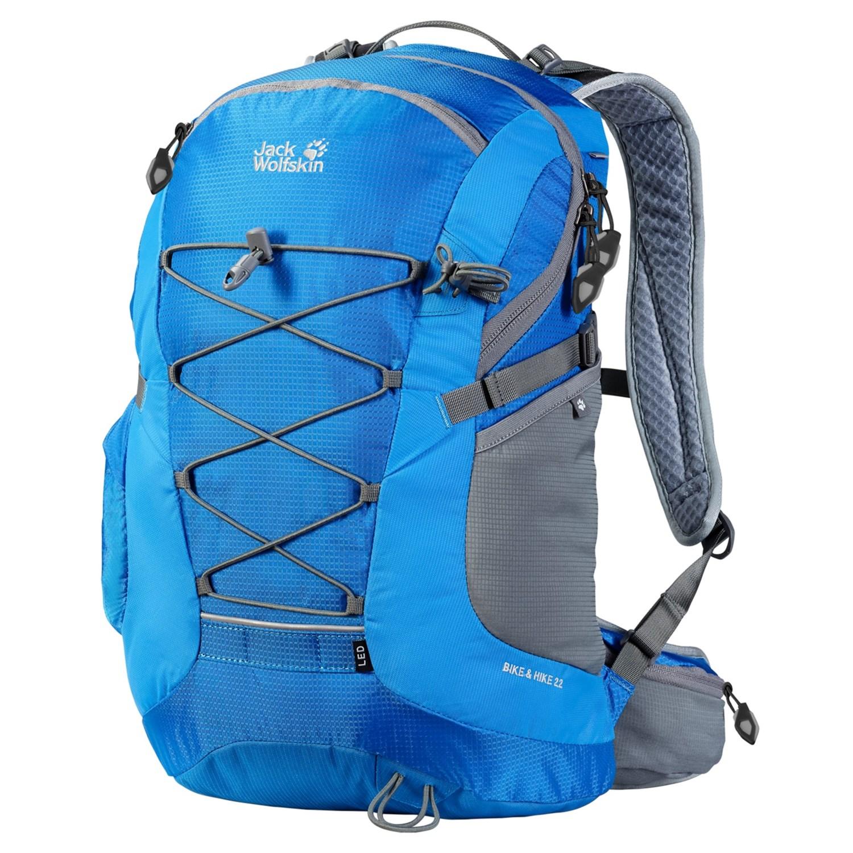 jack wolfskin bike hike 22 backpack 7548k save 30. Black Bedroom Furniture Sets. Home Design Ideas