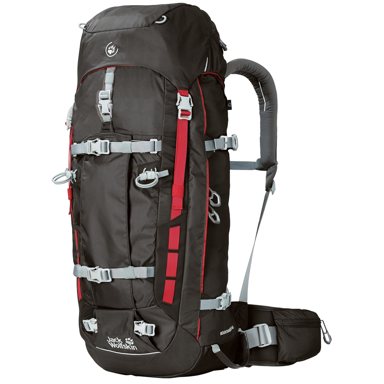jack wolfskin mountaineer 48 backpack 7548x save 30. Black Bedroom Furniture Sets. Home Design Ideas
