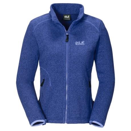 Jack Wolfskin Caribou Asylum Fleece Jacket (For Women)