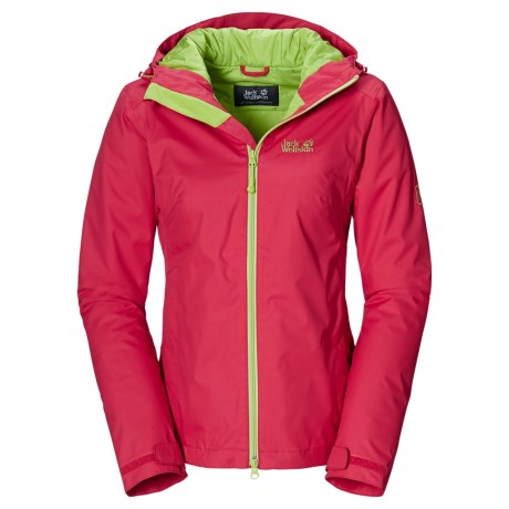Jack Wolfskin Chilly Morning Texapore Jacket - Waterproof, Insulated (For Women)