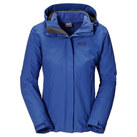 Jack Wolfskin Crush´N Ice Texapore Jacket - Waterproof, 3-in-1 (For Women)