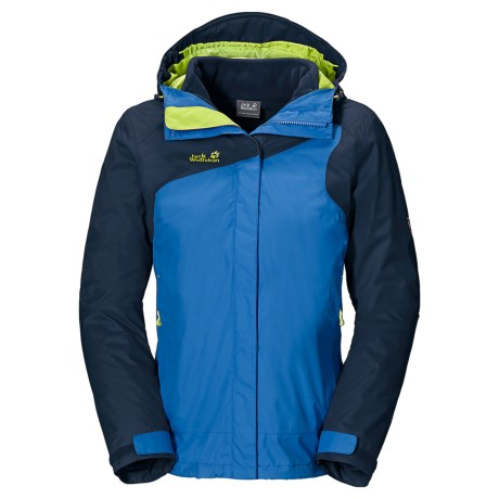 Jack Wolfskin Cool Wave Texapore Jacket - Waterproof, 3-in-1 (For Women)