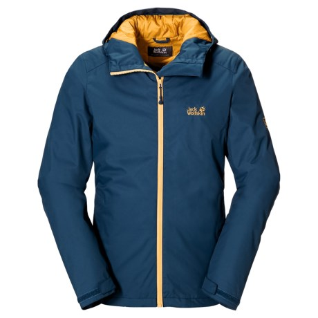 Jack Wolfskin Chilly Morning Texapore Jacket - Waterproof, Insulated (For Men)