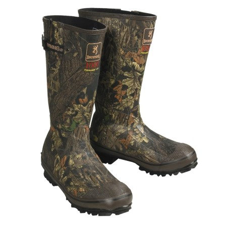 Browning Camouflage Boots - Waterproof  (For Men)