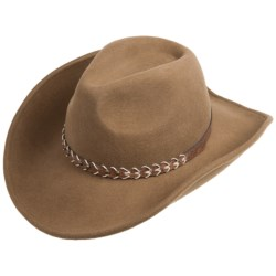 Outback Trading Leading Tracks Hat - UPF 50, Wool (For Men and Women)