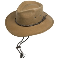 Outback Trading Grizzly Hat - UPF 50, Oilskin Cotton (For Men and Women)