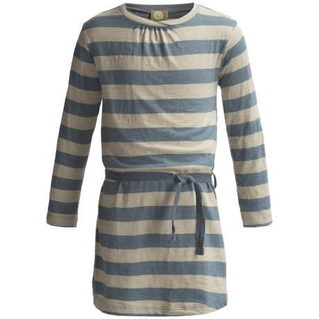 Nui Charlie Dress - Organic Cotton, Long Sleeve (For Toddler Girls)