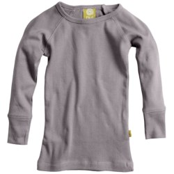 Nui Crew T-Shirt - Organic Cotton, Long Sleeve (For Infants and Kids)