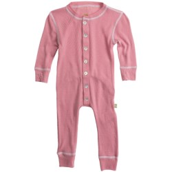 Nui Thermal Union Suit Pajamas - Merino Wool, Long Sleeve (For Infants and Kids)