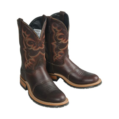 Double H Black Ice® Roper Boots (For Men)