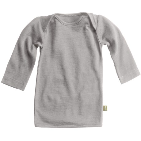 Nui Merino Wool Jersey T-Shirt - Long Sleeve (For Infant)