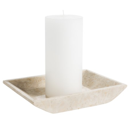 Creative Home Marble Boat Holder - Large