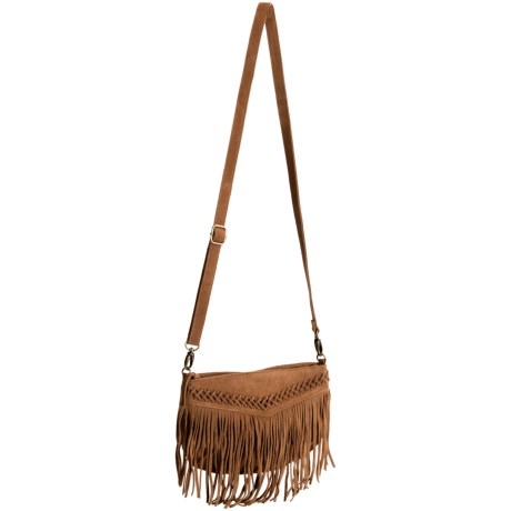 RVCA Lulua Shoulder Bag - Suede (For Women)
