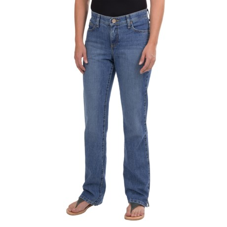 Wrangler Cash Ultimate Riding Jeans - Notched Bootcut (For Women)