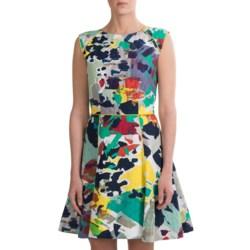 Rachel Roy Art Stencil Print Dress - Sleeveless (For Women)