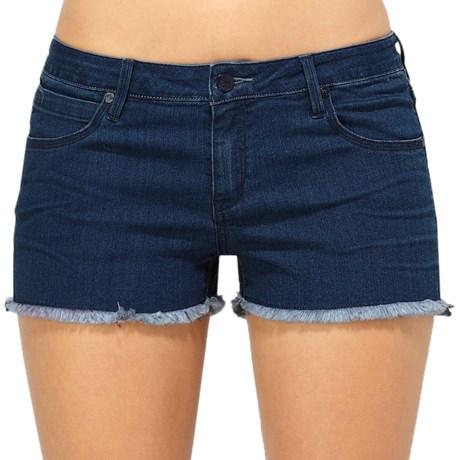 Quiksilver Shallow Boat Ramp Denim Shorts (For Women)