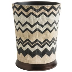 Avanti Linens Lauren Collection Waste Basket