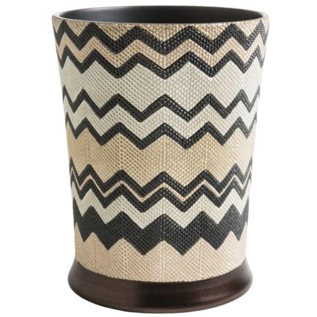 Avanti Linens Lauren Collection Waste Basket