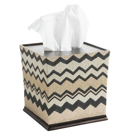 Avanti Linens Lauren Collection Tissue Box Cover
