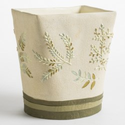 Avanti Linens Greenwood Collection Waste Basket
