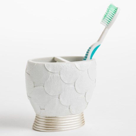 Avanti Linens Flutter Dots Collection Toothbrush Holder