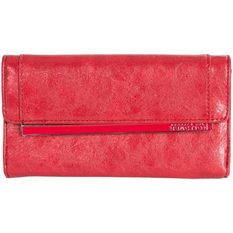 Kenneth Cole Reaction Fold-Over Wallet (For Women)
