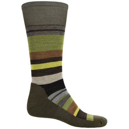 SmartWool Saturnsphere Socks - Merino Wool, Over-the-Calf (For Men) in Loden Heather - 2nds