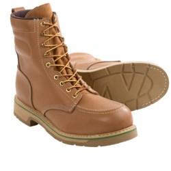 """Wolverine HyTest FootRests Work Boots - Steel Moc Toe, 8"""" (For Men)"""