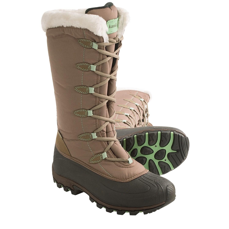 Kamik Encore Snow Boots (For Women) 7591D - Save 58%